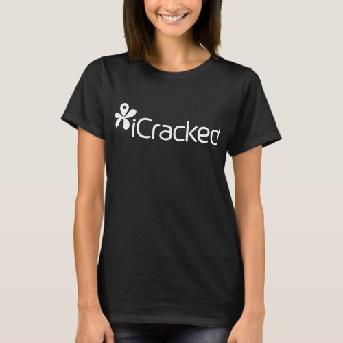 Icracked Shirts Blue Geek T_Shirts