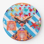 iCraft Scrapbooking and Buttons Craft Gifts Clock