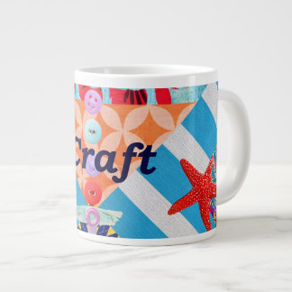 iCraft Scrapbooking and Buttons Craft Gifts Giant Coffee Mug