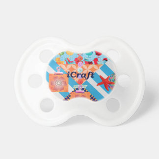 iCraft Scrapbooking and Buttons Craft Gifts Baby Pacifier