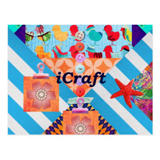 iCraft Scrapbooking and Buttons Craft Gifts Postcard