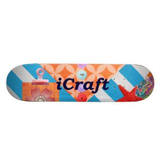 iCraft Scrapbooking and Buttons Craft Gifts Skateboard Decks