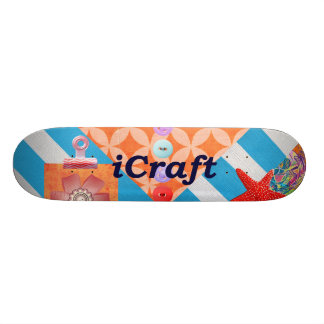 iCraft Scrapbooking and Buttons Craft Gifts Skateboard