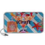 iCraft Scrapbooking y regalos del arte de los boto PC Altavoces