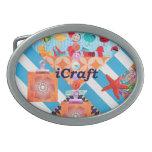 iCraft Scrapbooking y regalos del arte de los boto Hebilla De Cinturon