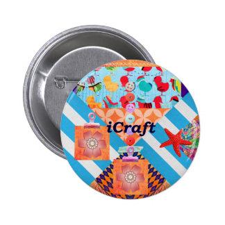 iCraft Scrapbooking y regalos del arte de los boto Pin