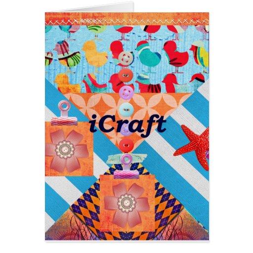 iCraft Scrapbooking y regalos del arte de los boto Tarjetas
