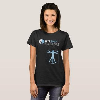 ICS 2017 Florence Women's T-Shirt, Black T-Shirt