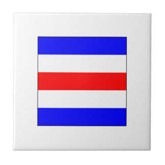 ICS Flag C Ceramic Tile