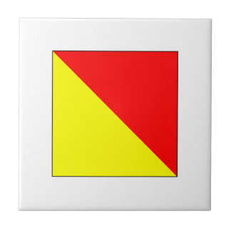 ICS Flag O Ceramic Tile