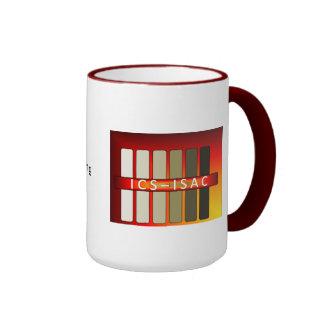ICS-ISAC Mug - Red Rim