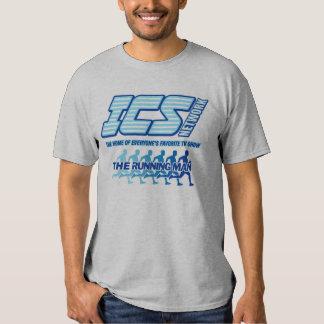ICS Network/Running Man Logo T-shirt