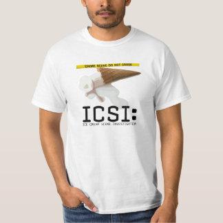 ICSI: Ice Cream Scene Investigation Funny Tee