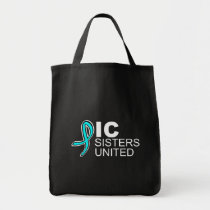 ICSU Logo Grocery Tote in Black