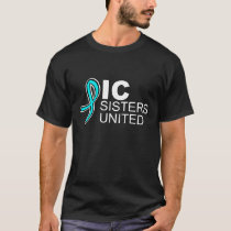 ICSU logo shirt in black