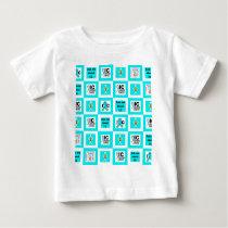 ICSU Tiles Pattern Baby T-Shirt