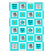 ICSU Tiles Pattern Card