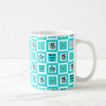 ICSU Tiles Pattern Coffee Mug