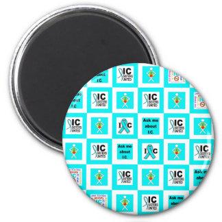ICSU Tiles Pattern Fridge Magnet