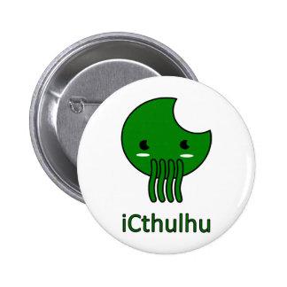 iCthulhu Pin Redondo De 2 Pulgadas