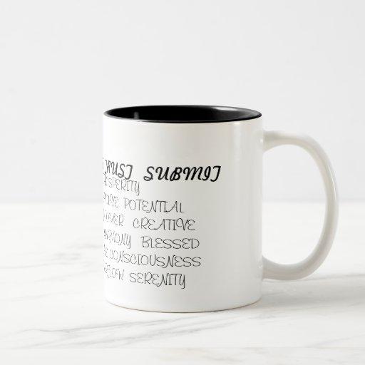 icthus, S, ABUNDANT PROSPERITYFAITH  GROWTH  EV... Two-Tone Coffee Mug