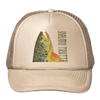 Ictiología de la trucha de Brown, pesca, pesca con Gorro