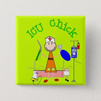 ICU Chick (Nurse) Button
