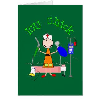 ICU Chick (Nurse) Card
