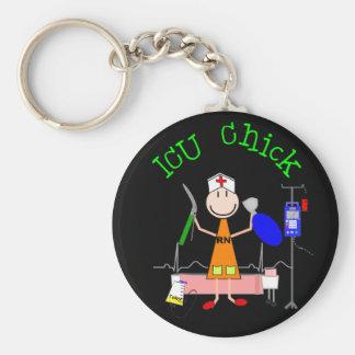 ICU Chick (Nurse) Keychain