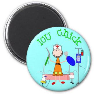 ICU Chick (Nurse) Magnet