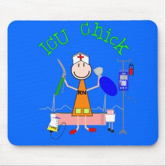 ICU Chick (Nurse) Mouse Pad
