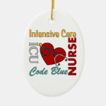 ICU - Enfermera Ornamento De Navidad