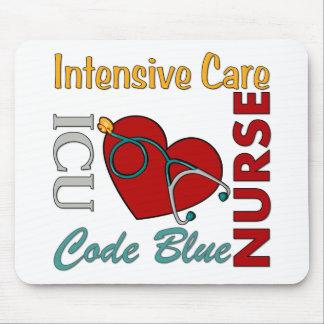 ICU - Enfermera Alfombrilla De Ratones