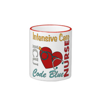 ICU - Enfermera Tazas De Café