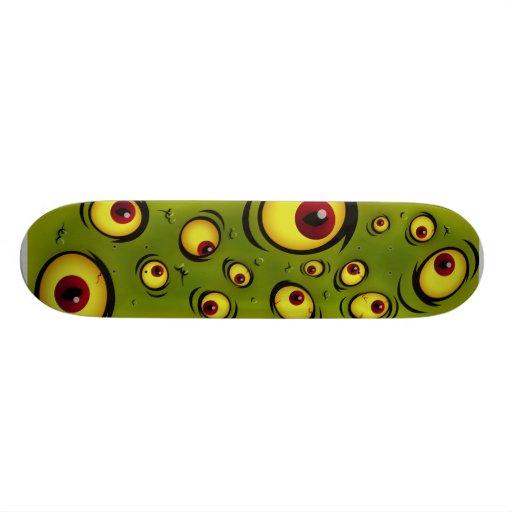 ICU Green Deck Skateboards