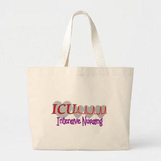 ICU INTENSIVE Nursing  Unique Gifts Jumbo Tote Bag