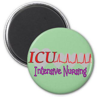 ICU INTENSIVE Nursing  Unique Gifts Fridge Magnet