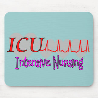 ICU INTENSIVE Nursing  Unique Gifts Mouse Pad