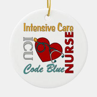 ICU - Nurse Ceramic Ornament