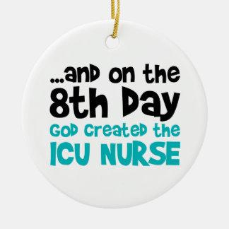 ICU Nurse Creation Ceramic Ornament