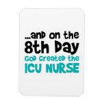 ICU Nurse Creation Vinyl Magnet
