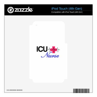 ICU Nurse Decals For iPod Touch 4G