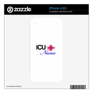 ICU Nurse Decals For The iPhone 4