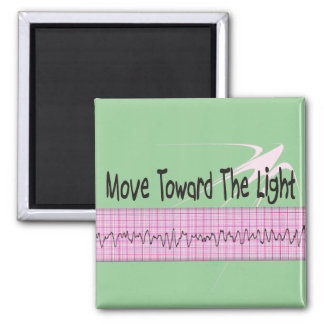 ICU Nurse Gift--Hilarious V-Fib EKG Strip Design Magnet