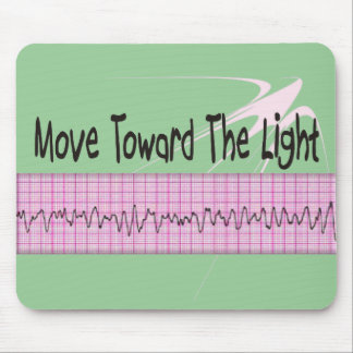 ICU Nurse Gift--Hilarious V-Fib EKG Strip Design Mouse Pad