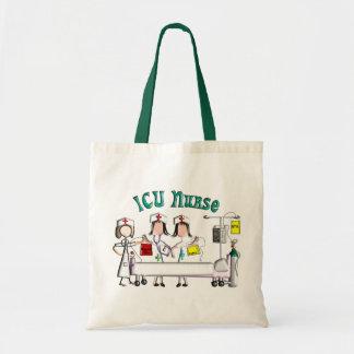 ICU Nurse Gifts Unique 3D Artist Graphics Budget Tote Bag