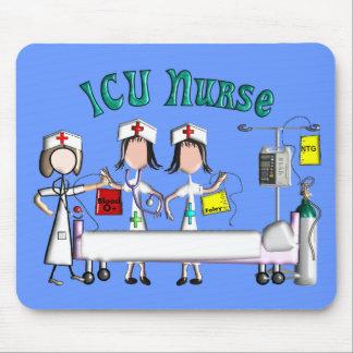 ICU Nurse Gifts Unique 3D Artist Graphics Mouse Pad