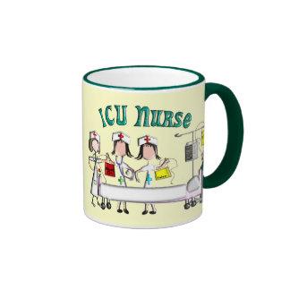 ICU Nurse Gifts Unique 3D Artist Graphics Mug