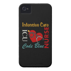 Icu - Nurse Iphone 4 Case-mate Case at Zazzle