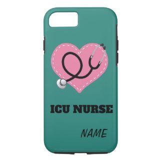 """""""ICU Nurse"""" iPhone 7 TOUGH CASE"""